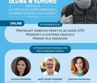 Plakat_Głowa w koronie_STO_17 kwietnia